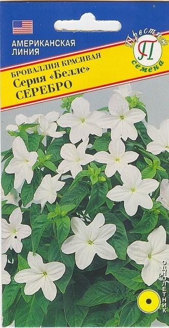 Броваллия марине белл выращивание из семян 44